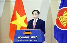 Celebran en Hanoi acto de saludo a bandera de ASEAN