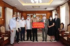 Apoyan a comunidad vietnamita en Laos en combate contra COVID-19