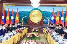 Presidente vietnamita se reúne con máximo dirigente de Laos