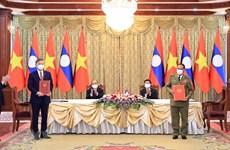 Vietnam presenta altas distinciones al Ministerio de Seguridad Pública de Laos
