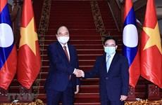 Presidente vietnamita continúa agenda apretada en Laos