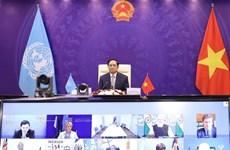 Vietnam exhorta a solución global para fortalecer seguridad marítima