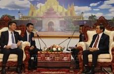 Fomentan Vietnam y Laos cooperación en comercio y asuntos judiciales