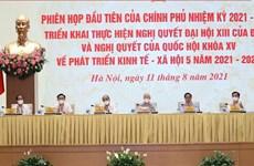 Evalúa Gobierno de Vietnam implementación de plan socioeconómico nacional para próximo lustro