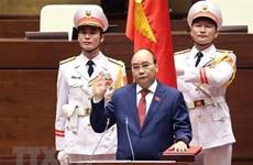 Presidente y primer ministro de Vietnam reciben felicitaciones de sus homólogos de Cuba