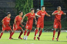 Selección de fútbol sub-22 de Vietnam se prepara para ronda clasificatoria de Copa Asiática 2022