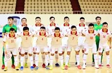 Vietnam trabajará por avanzar a los play off de la Copa Mundial de fútbol sala