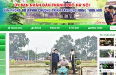 """Lanzan sitio web de Hanoi sobre programa """"Cada comuna, un producto"""""""
