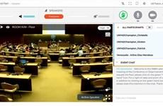 Juventud vietnamita participa en Conferencia de desarme en Ginebra