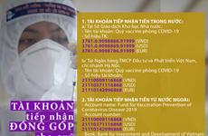 En alza fondo de vacunas contra el COVID-19 en Vietnam
