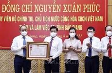 Enaltecen a provincia vietnamita de Bac Giang por logros en lucha antipandémica