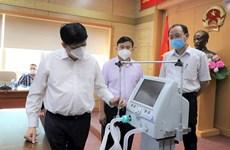 Trasladarán a Ciudad Ho Chi Minh 200 ventiladores mecánicos