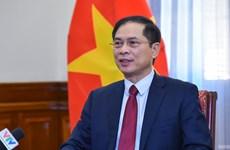 Canciller vietnamita destaca conclusión del Buró Político sobre labores relativas a los coterráneos en ultramar
