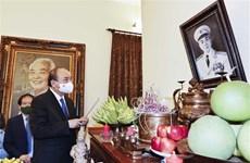 Dirigentes vietnamitas rinden homenaje al general Vo Nguyen Giap