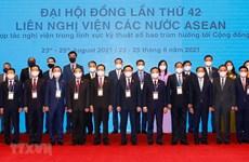 AIPA 42: Parlamentos de Laos e Indonesia llaman a fomentar cooperación intrabloque