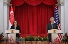 EE.UU. y Singapur por cooperar en nuevas áreas