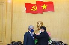 Entregan distinción a coordinador residente de ONU por sus aportes al sector de formación de Vietnam