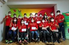Delegación vietnamita lista para los Juegos Paralímpicos de Tokio