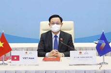 Presidente del Parlamento de Vietnam participa en clausura de AIPA-42