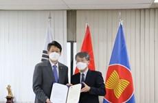 Ciudad sudcoreana dona kits de prueba rápida del COVID-19 a localidad vietnamita