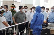 Primer Ministro inspecciona labores preventivas de COVID-19 en Ciudad Ho Chi Minh