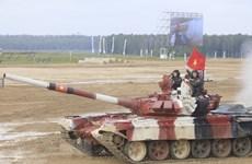 Vietnam impresiona a otros equipos de tanques en Juegos Militares en Rusia
