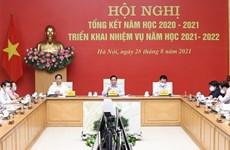 Primer ministro de Vietnam insta a garantizar la seguridad del nuevo año escolar
