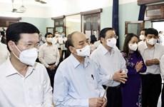 Rinden homenaje al Presidente Ho Chi Minh con motivo de efemérides nacionales