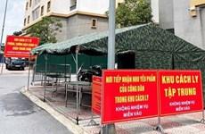 Hanoi intensifica tareas de prevención y control del COVID-19