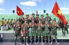 Vietnam con buenos resultados en Army Games 2021
