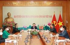 Vietnam concede importancia al impulso de los nexos con China