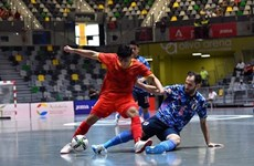 Vietnam listo para participar en Copa Mundial de fútbol sala
