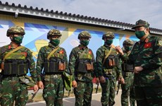 Mayor general ruso aprecia habilidades de artilleros vietnamitas