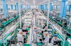 Hanoi capta más de 840 millones de dólares de inversión extranjera entre enero y agosto