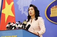 Vietnam protege su soberanía marítima según UNCLOS, afirma la vocera de Cancillería