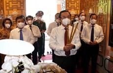 Autoridades de Ciudad Ho Chi Minh homenajean al Padre de la nación