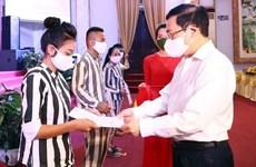 Viceprimer ministro de Vietnam asiste a ceremonia de anuncio de decisión de amnistía