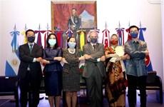 Celebran aniversario 54 de fundación de ASEAN en Argentina