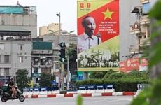 Más felicitaciones enviadas a Vietnam en ocasión del Día Nacional