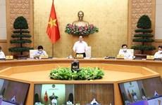 Gobierno de Vietnam analiza soluciones para desarrollo socioeconómico nacional