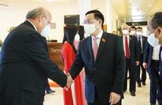 Dirigente legislativo vietnamita arriba a Austria para participar en Conferencia de Presidentes de Parlamento