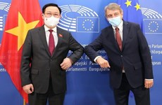 Presidente de la Asamblea Nacional de Vietnam se reúne con titular del Parlamento Europeo
