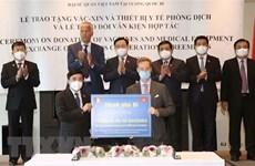 Bélgica dona a Vietnam 100 mil dosis de vacuna contra COVID-19