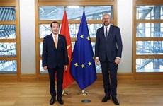 Bélgica y UE dispuestas a fortalecer cooperación con Vietnam