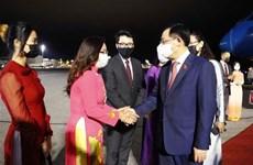 Presidente de la Asamblea Nacional de Vietnam inicia una visita oficial a Finlandia