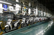 Disminuyen ventas de automóviles de Honda Vietnam por quinto mes consecutivo