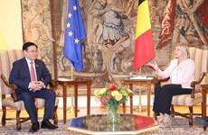 Vietnam aspira a fortalecer relaciones multifacéticas con Bélgica