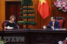 Inversores neerlandeses se interesan en cooperación portuaria y logística en Vietnam