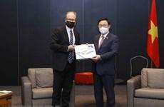 Otras actividades del Presidente del Parlamento de Vietnam en Finlandia