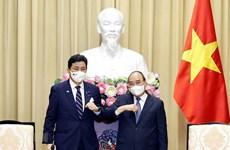 Vietnam exhorta al apoyo de Japón en acceso a vacunas contra COVID-19